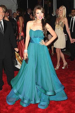 Maquiagem usar vestido azul esverdeado