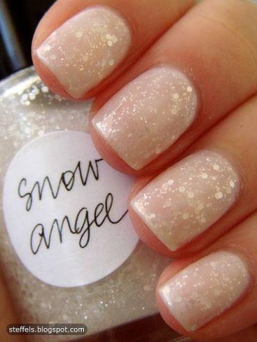 """O branco não pode faltar, este """"Snow Angel"""" é muito fofo"""