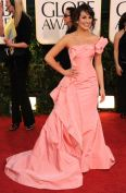 golden-globes-red-carpet-fashion-lea-michele-pink-dress