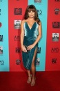lea-michele-crushed-velvet-blue-dress-cushnie-et-ochs-american-horror-story-premiere